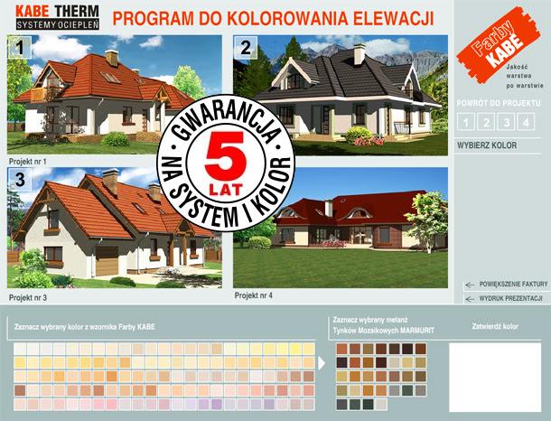 Wizualizacji Budynku Program Do Kolorowania Elewacji Ocieplanie