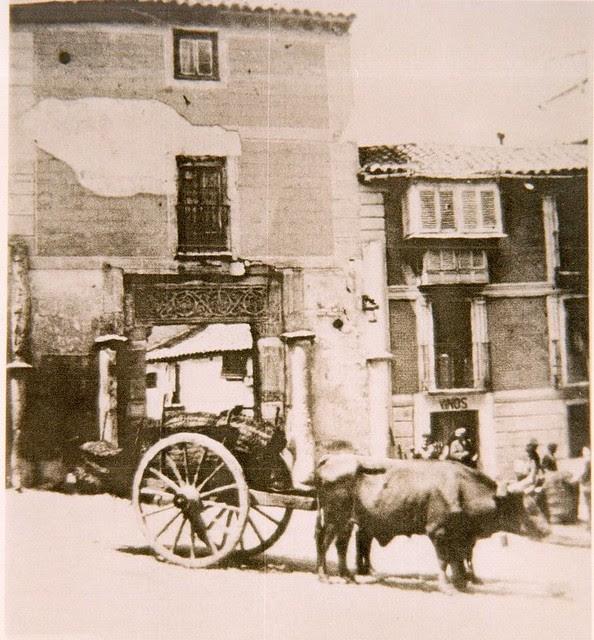 Corral de Don Diego en el siglo XIX. Toledo