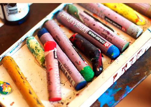 craypas close up