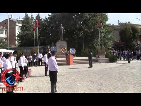 Bozkır Kaymakamı Mustafa Koç'un Konuşması - Bozkır'da Cumhuriyet Bayramı Coşkusu