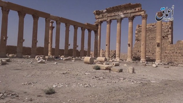 The one and a half minute video doesn't feature any fighting in and around the city of Palmyra, which was captured by ISIS militants last Thursday following a lightning advance