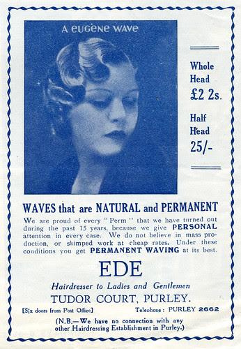Eugène permanent wave