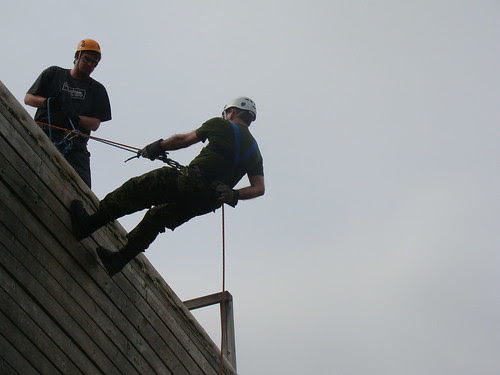 Me going over the edge