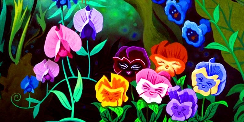 Alice In Wonderland Images The Pansies Wallpaper And Background