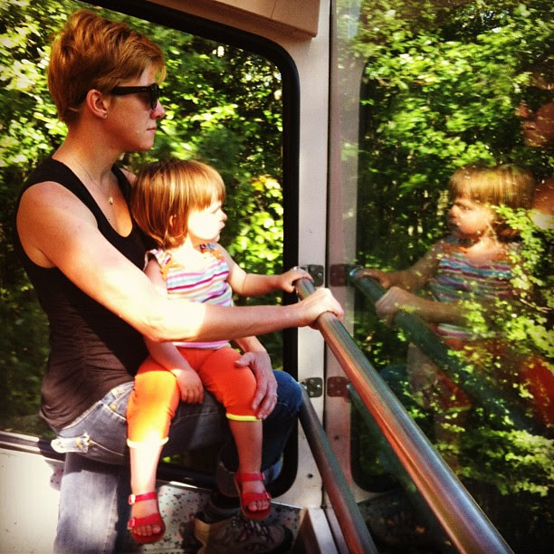 taking the funicular up to chaumont (11août).