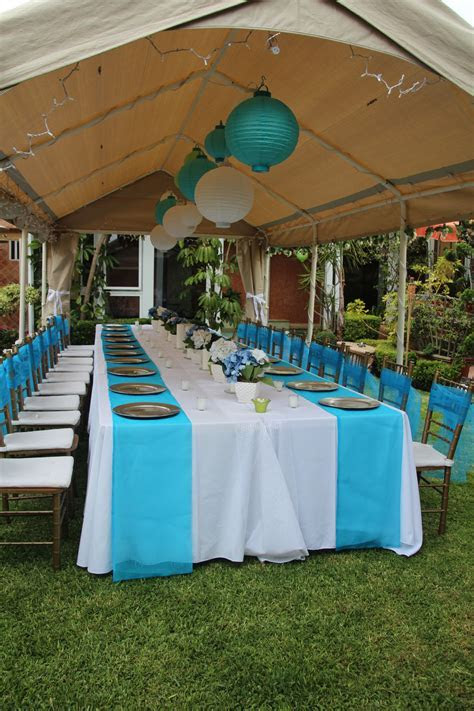 cheap baby shower chair decorating ideas   Outdoor party