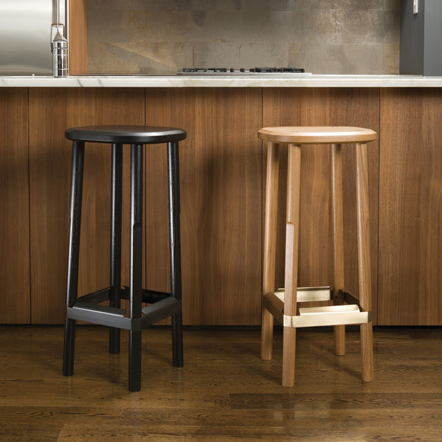 Rich, Brilliant, Willing. Cask Bar Stool - modern - bar stools and ...