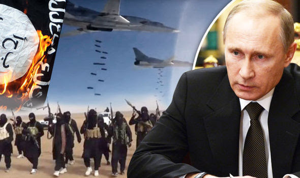 Putin is stepping up his efforts to destroy ISIS