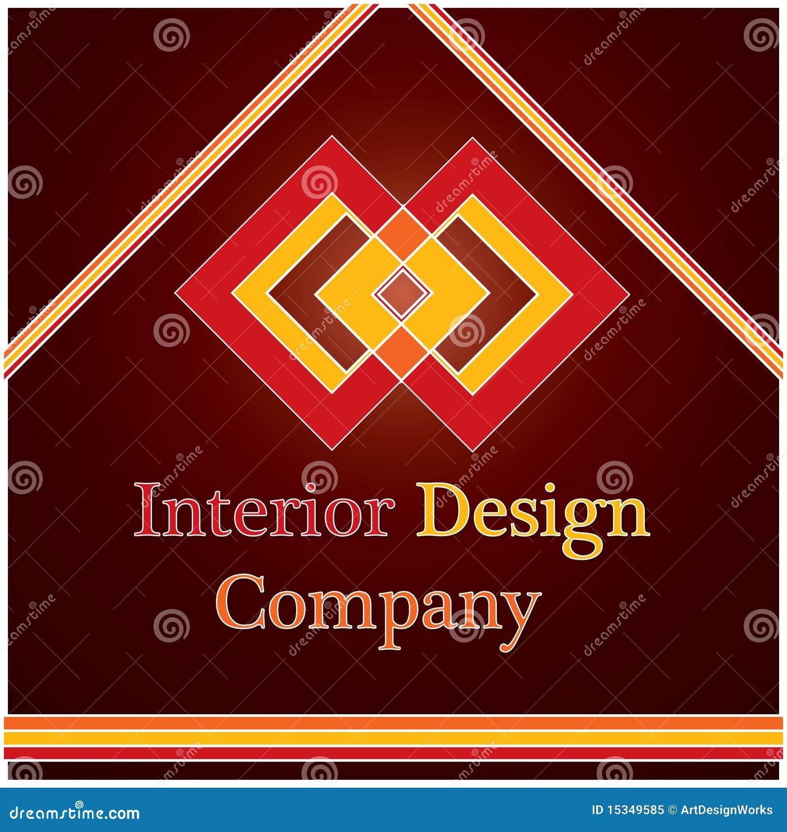 Interior Design Company Logo Royalty Free Stock Photo - Image