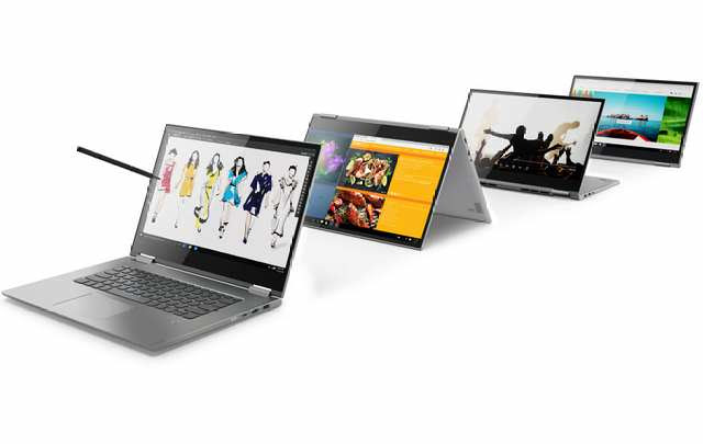 Slim Lenovo Yoga 730, Yoga 530 Convertible Windows 10 Laptops debuts at MWC