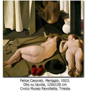 Felice Casorati, Meriggio