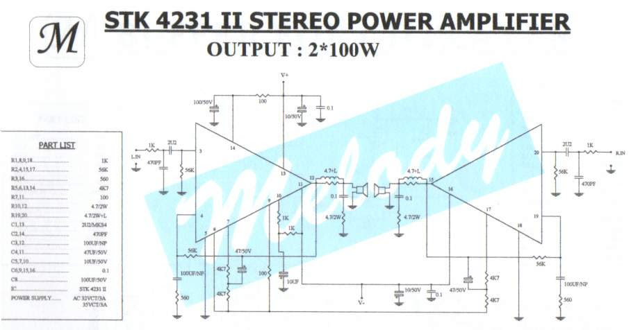 stk power amplifier circuits 300w 1000 watts power amplifier schematic diagrams #9