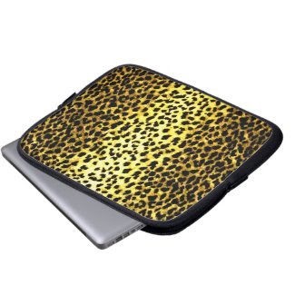 Leopard Laptop Computer Sleeves