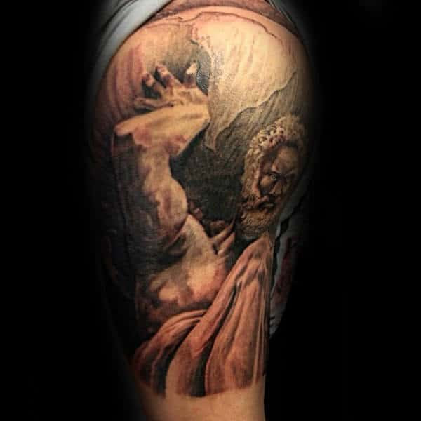 70 Atlas Tattoo Designs For Men Manly Greek Ink Ideas