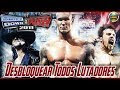 Desbloquear Lutadores, Trajes e Rings no WWE SmackDown vs Raw 2011
