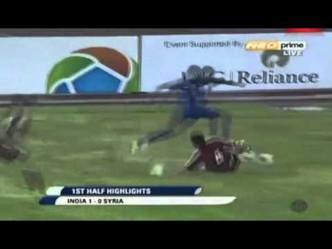 sunil chetri strikes vs syria nehru cup 2012