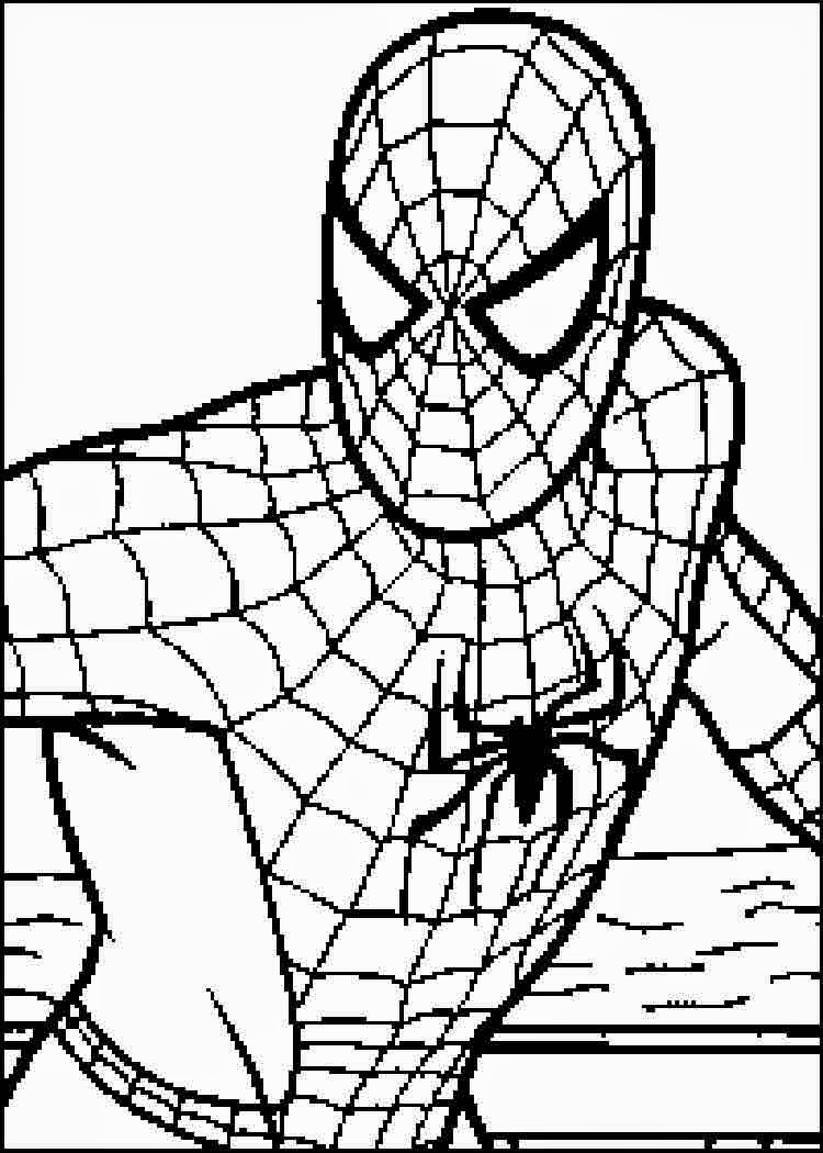 Spiderman Drawing Easy | Free download on ClipArtMag