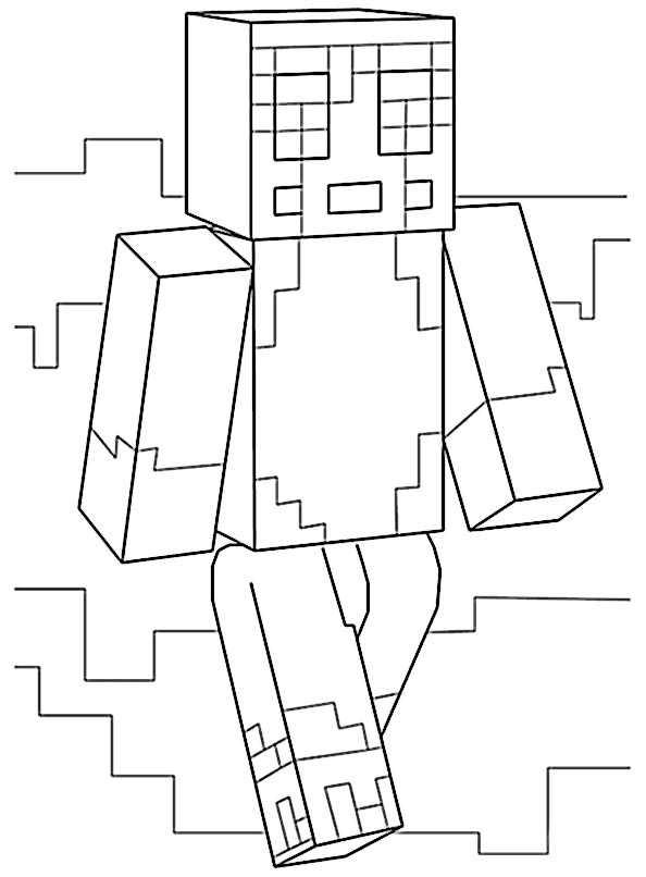 Minecraft 22 | Ausmalbilder Kostenlos