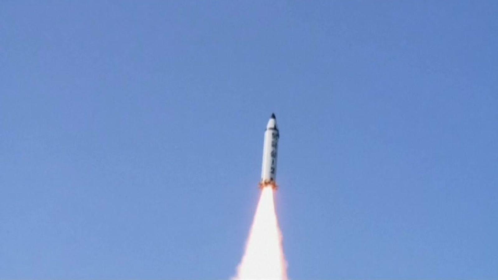 North Korea tested the Pukguksong-2 missile on Sunday