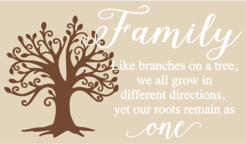 Family Like Branches On A Tree Pine Company