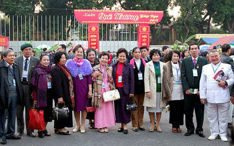 hòa hợp dân tộc, Nguyễn Thanh Sơn, kiều bào