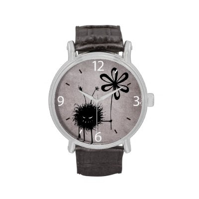 Evil Flower Bug Vintage Wristwatches