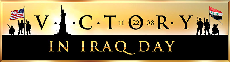 November 22, 2008:  Victory in Iraq Day