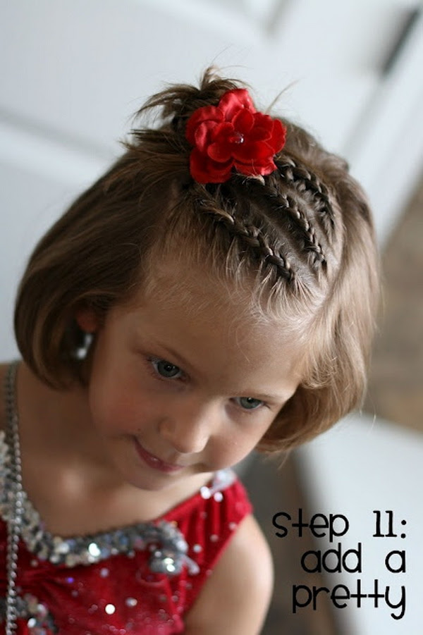 Hair Style For Kids Short Hair Hair Style Kids