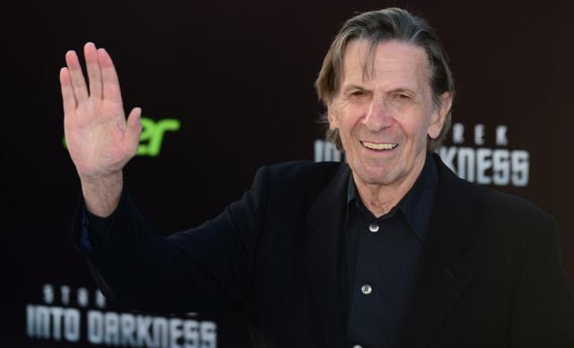 Nimoy nunca se distanciou de Spock FREDERIC J. BROWN /AFP