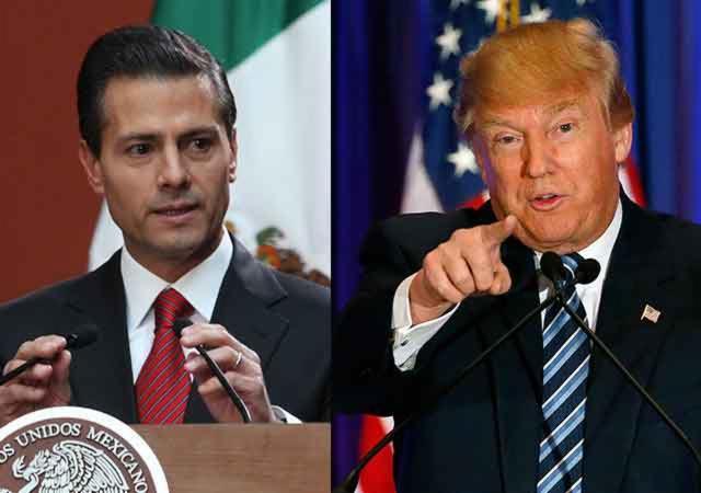 MEXICO: Peña Nieto cancela viaje a EE.UU. tras la polémica por el muro