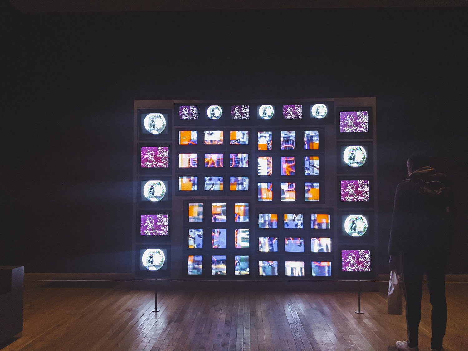 Nam June Paik Tate Modern Nothing Spaces