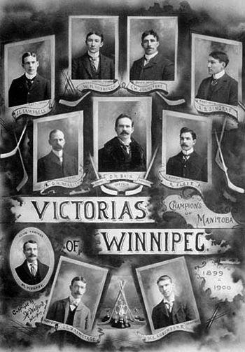 1900 Winnipeg Victorias team, 1900 Winnipeg Victorias team