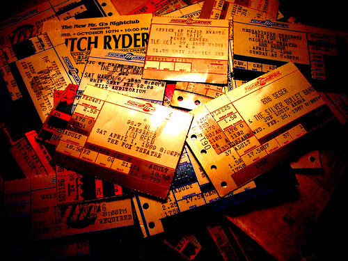 Tickets to the past