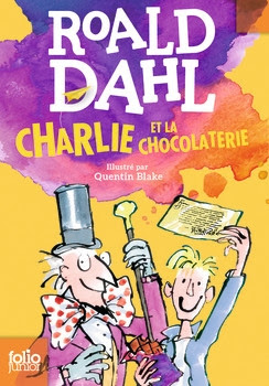 Couverture Charlie et la chocolaterie