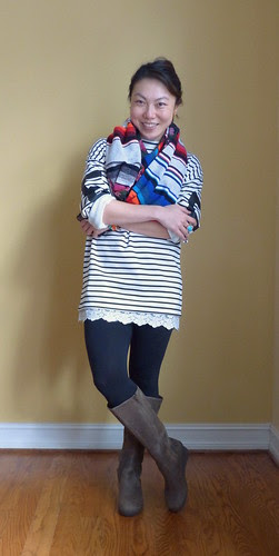 oversized stripes