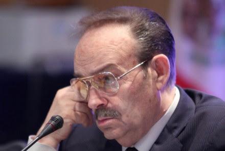 Mario Vázquez Raña,  presidente vitalicio del Comité Olímpico Mexicano. Foto: Benjamin Flores