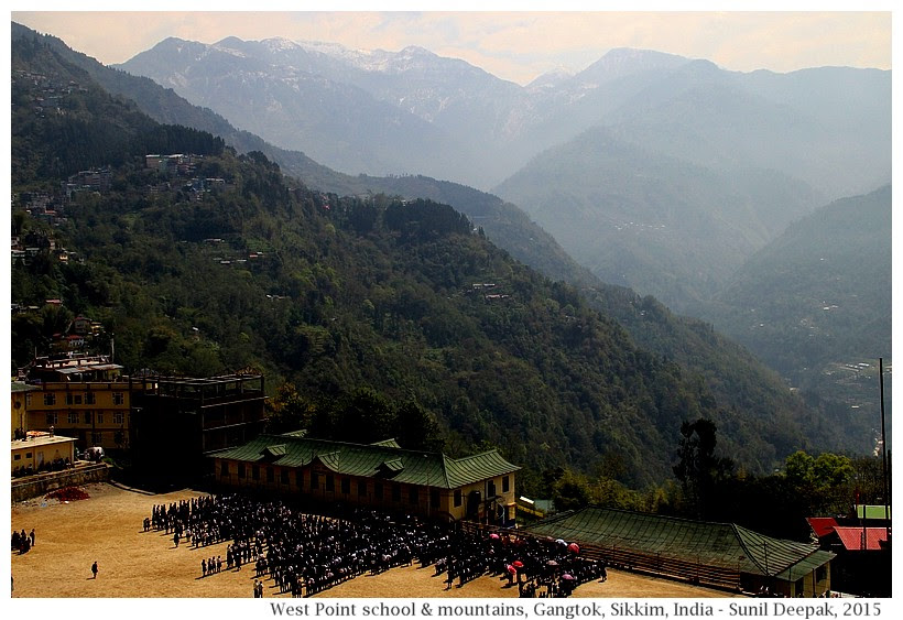 Gangtok Walking Tour - city centre & the Ridge - Images by Sunil Deepak