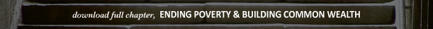 Ending Poverty Chapter