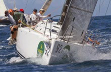 J/122 sailing St Thomas regatta