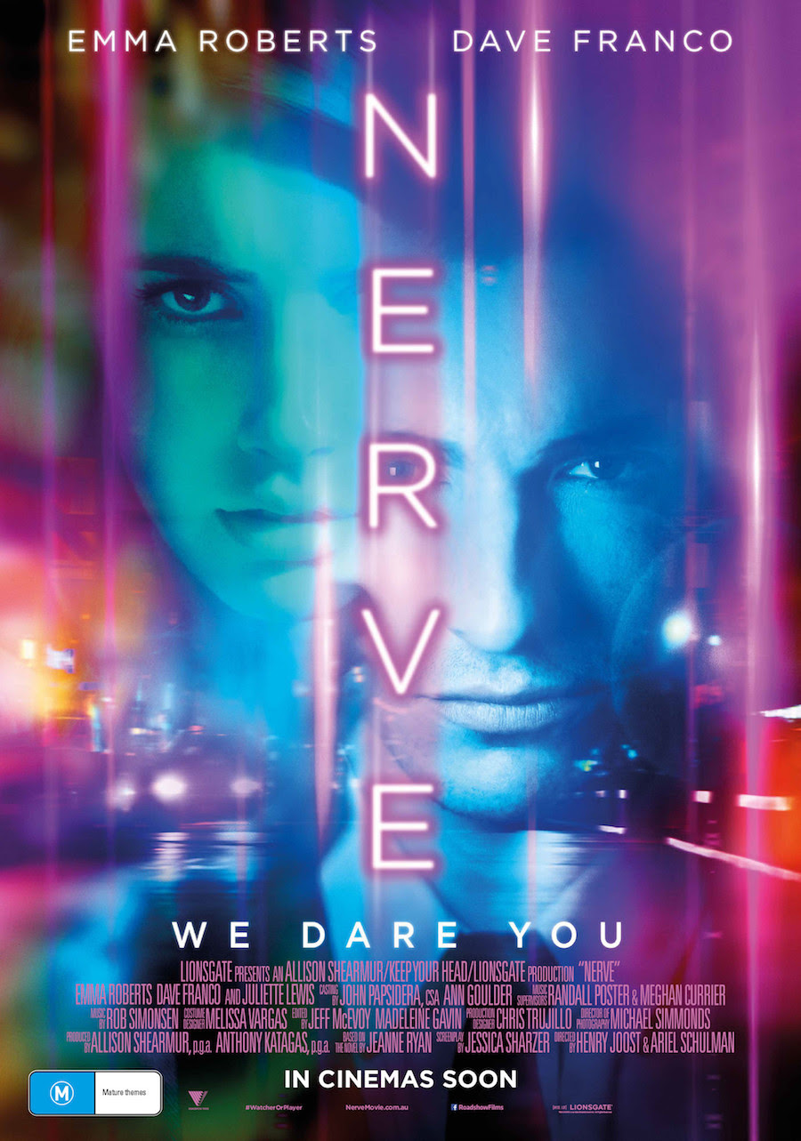Image result for nerve review poster