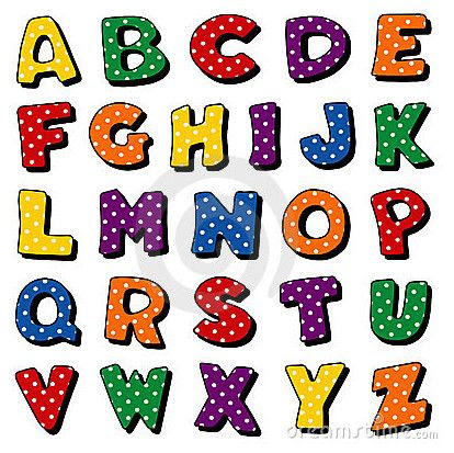 fancy alphabet letters to print and cut out | The Alphabet With ...
