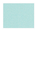 A2 card size JPG Snow Dot Day (light turquoise) paper LARGE SCALE