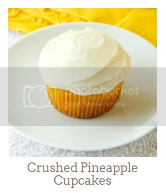 """Crushed Pineapple Cupcakes"""