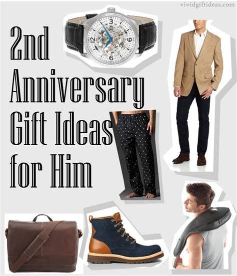 2nd Anniversary Gifts For Husband   Gifts for husband