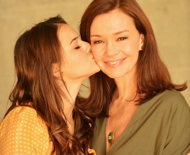 Em sua primeira novela como protagonista, Em família (Foto: Divulgação/TV Globo)