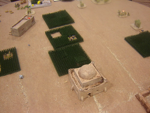 Pushing Taliban back into fields