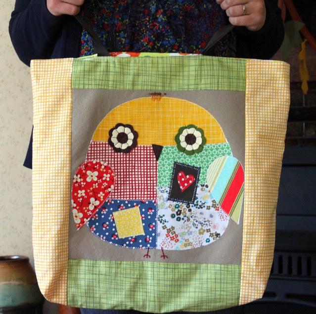 Fall Owl Tote