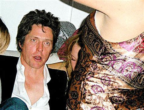 The night Hugh Grant ended up in the arms of a gaggle of