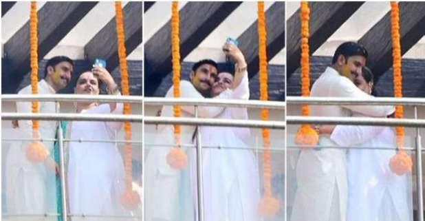 Wedding Celebrations Kick-start, Ranveer Singh's Haldi Ceremony Seems To Be A Fun Affair