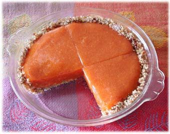 Indiana Persimmon pie recipe
